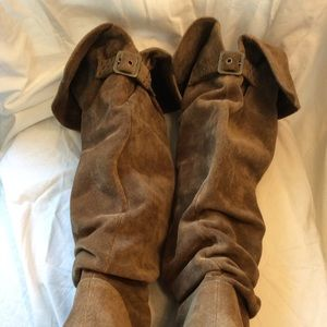 Jessica Simpson Shoes - Jessica Simpson Tan Suede Boots